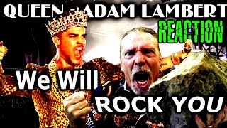 Vocal Coach Reacts To Queen | Adam Lambert | We Will Rock You | Ken Tamplin