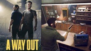 Way out: Новая лучшая игра на двоих?