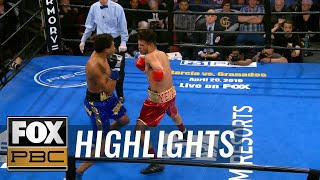 Money Powell IV responds with KO after cheap shot by Christian Aguirre | HIGHLIGHTS | PBC ON FOX