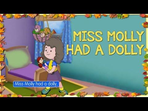 Miss Molly had a Dolly - Popular Popular English Nursery Rhymes With Lyrics