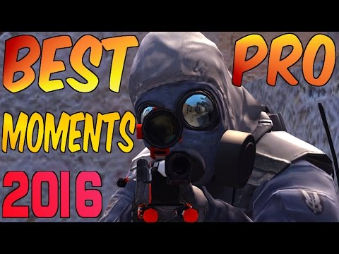 CS:GO - BEST PRO MOMENTS! 2016 (Flickshots, Crazy Clutches,