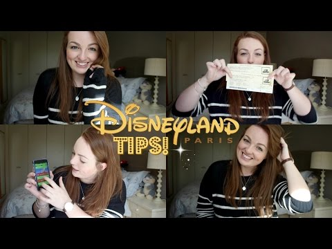 Disneyland Paris Tips & Tricks | The Ultimate Guide! ♡ | brogantatexo