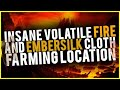 Insane Volatile Fire Embersilk Cloth Location Ascendents Rise Up to 150k Per Hour WoW Gold Guide