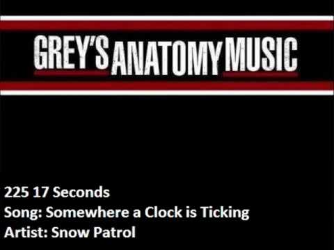 225 Snow Patrol - Somewhere a Clock is Ticking