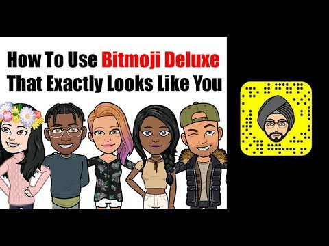 How to Create Bitmoji Deluxe That Exactly Looks Like You (Tech Ugly)