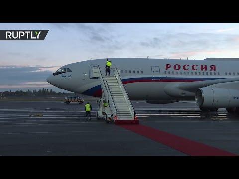 Прилет Путина в