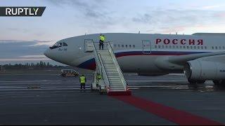 Прилет Путина в Берлин на встречу «нормандской четверки»