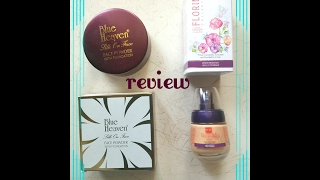 Blue Heaven Florina Foundation amp Silk on Face Powder- Demo amp Review omnistyles
