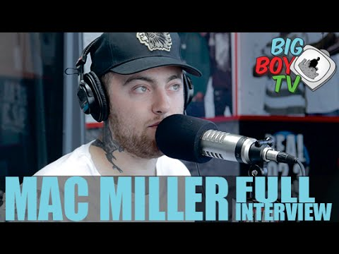 "Mac Miller on Tattoos ""Weekend"" featuring Miguel And More    BigBoyTV"