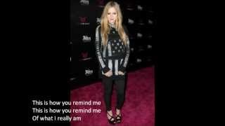 Avril Lavigne - How You Remind Me Lyrics Resimi