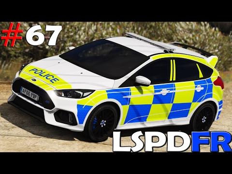 GTA V LSPDFR #67  POLICIA DE REINO UNIDO | FORD FOCUS RS | TheAxelGamer