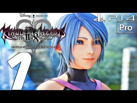 Kingdom Hearts 2.8 HD - Gameplay Walkthrough Part 1 - Full Game (PS4 PRO) A Fragmentary Passage BBS