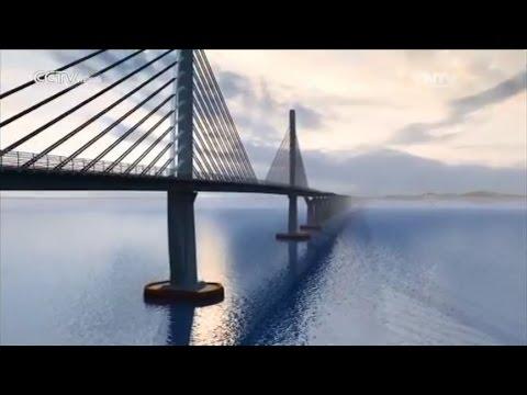 Le pont Hong Kong - Zhuhai - Macao - Partie 1