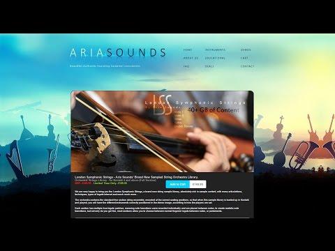 Aria Sounds London Symphonic Strings - Kontakt Strings Library Demo