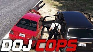 Dept. of Justice Cops #264 - Fight or Flight (Criminal)