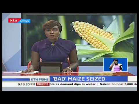 202 containers of \'bad\' maize from Zimbabwe seized in Mombasa