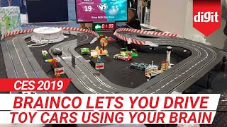 CES 2019: BrainCo Lets You Drive Toy Cars Using Your Brain | Digit.in
