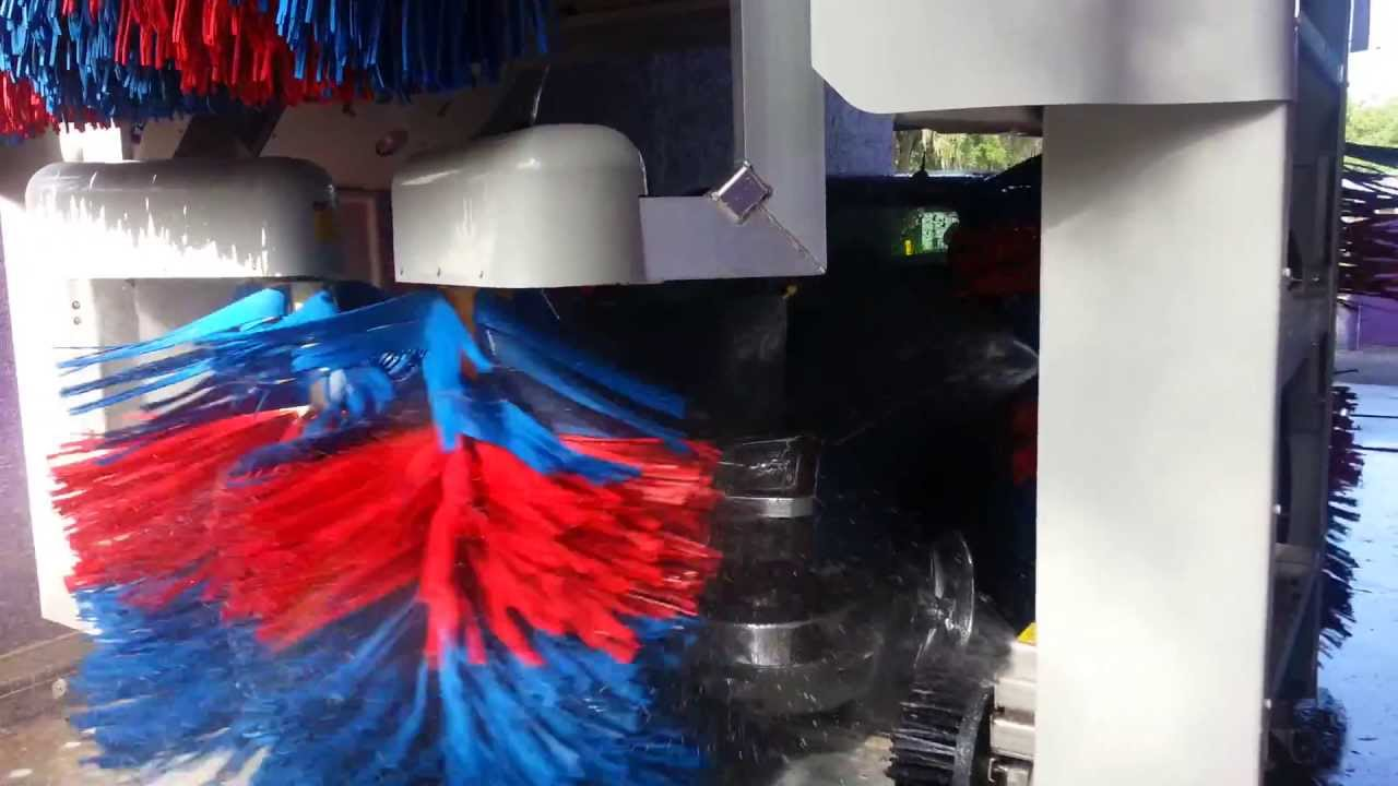 Car Wash Brush >> Splash Car Wash Ocala Ryko Softgloss Maxx Video - YouTube