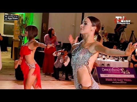 Taylor Hatala, Bailey Sok, Tati Mcquay ,Jadyn Hernandez Dance Stars Festival, Ballroom Performance