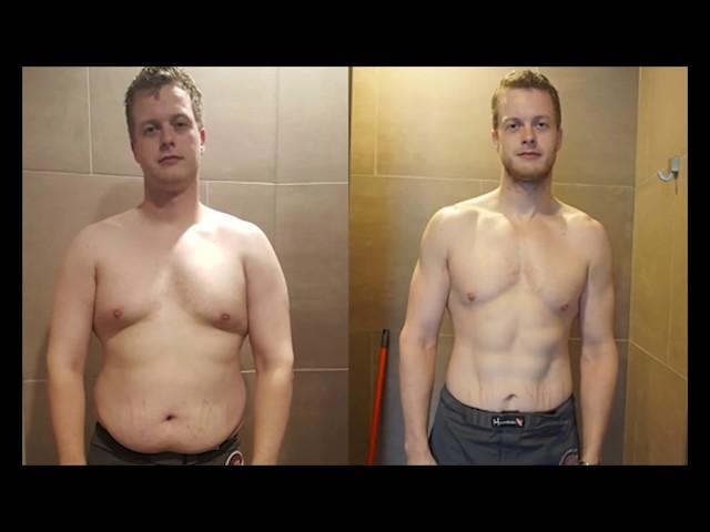 Hoe Patrick zijn lichaam in één jaar transformeerde...
