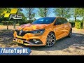 Renault Megane RS 2018 280 EDC Review by AutoTopNL (English Subtitles)