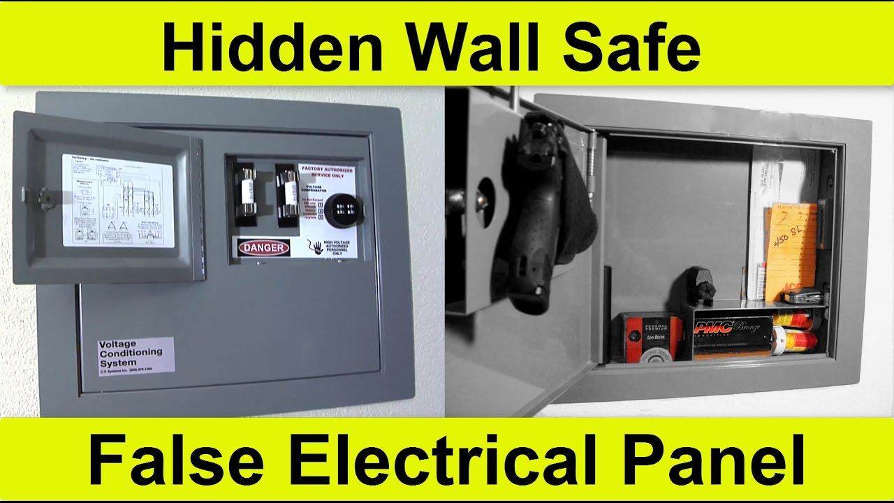 Console Vault Secret Hidden Wall Safe Youtube