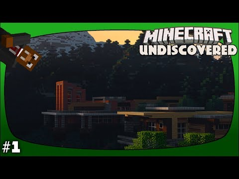 Minecraft Undiscovered Episode 1 - Exploring A Beautiful New World!