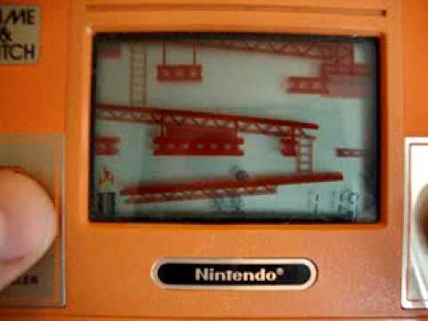 Donkey Kong Game & Watch, Nintendo.