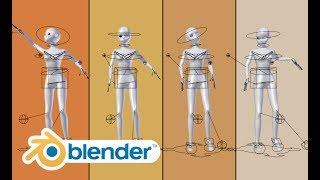 Blender Human Meta-Rig. Clear HD tutorial. (2.78)