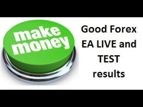 A Forex Make Money MT4 Expert Advisor shows great Tallinex Live & other broker account test ...