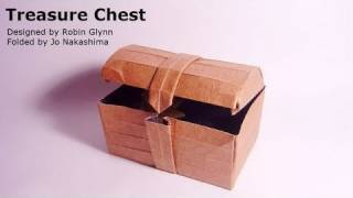 Origami Treasure Chest (robin Glynn)