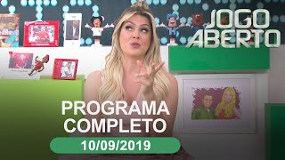 Jogo Aberto - 10/09/2019 - Programa completo