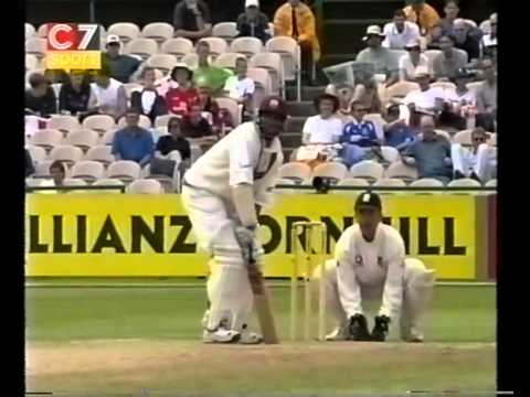Brian Lara 112 vs England 3rd test 2000