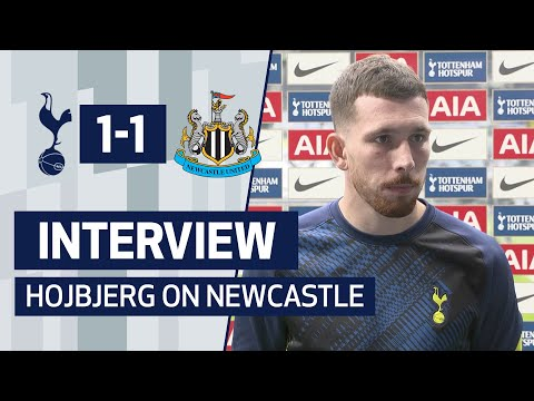 INTERVIEW | Pierre-Emile Højbjerg on Newcastle Draw