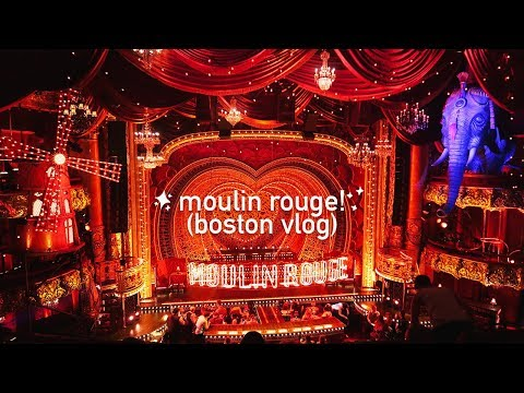 Moulin Rouge! The Musical 💃🏾(vlog 008) | Jenna Clare