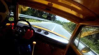 Fiat 128 rally 1300 gruppo 2 onboard hill climb race Cazin 2013