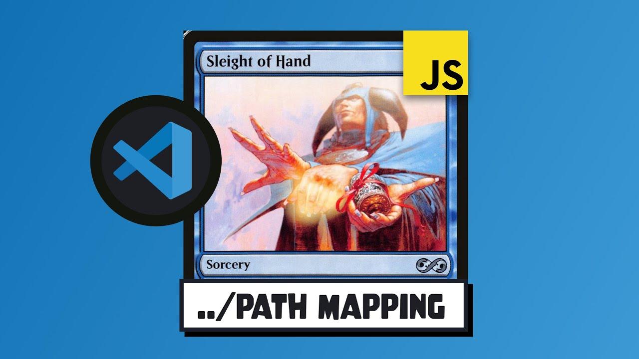 VS Code Path Trick with JavaScript