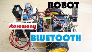 61. Projekt Robot - sterowanie bluetooth