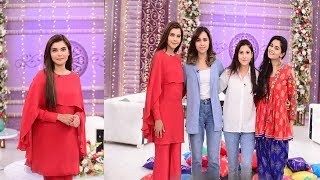 good morning pakistan with nida yasir today special show on personalize interview of celebrities 16