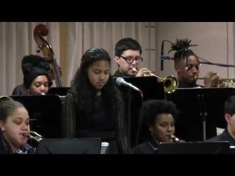 Science Park High School Jazz Band (A Tisket A Tasket) featuring Emily Springer