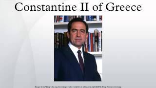 Constantine II of Greece