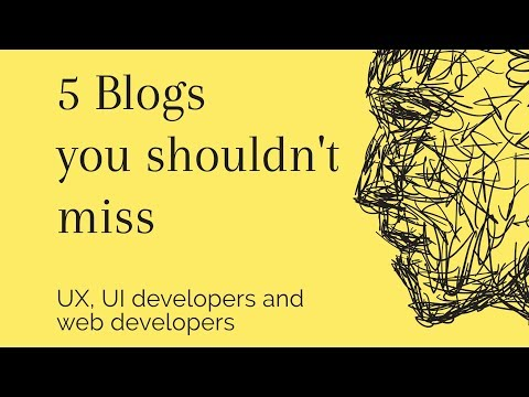 5 Blogs you should read (for developers & designers)