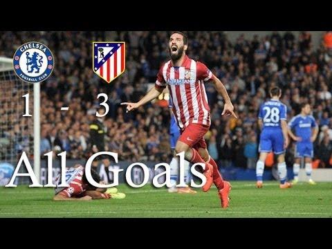 Download Chelsea vs Atletico de Madrid 1-3 Semifinal Champions League all goals 30/04/2014