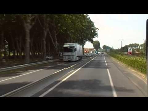 Vias-Béziers Linje 210 -Bussresa