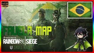 مغامرة مغربية في البرازيل | Rainbow Six Siege Favela Map - Skull Rain DLC
