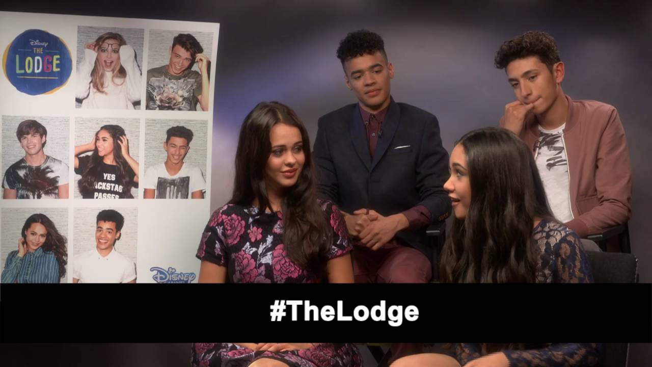 Interview Jade Alleyne Jayden Revri Joshua Sinclair Bethan Wright The Lodge Youtube