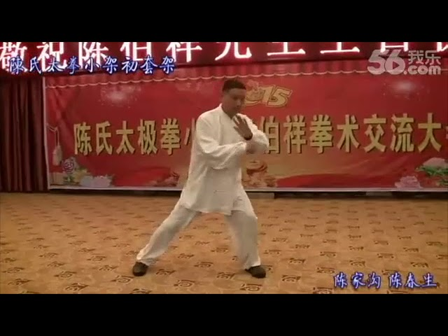Chen Chun Sheng - Tai Chi style Chen Xiaojia Yilu  [陈氏太极拳小架 Taijiquan style Chen Xiaojia]