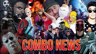 MarioBautista doblaje, Radcliffe Wolverine?, Pattinson Batman?, 3horas de Avengers4 y más #ComboNews