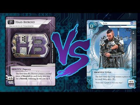 Android: Netrunner - Random Battle #51 HB AoT FallingWater VS Los PrePaid VoicePad
