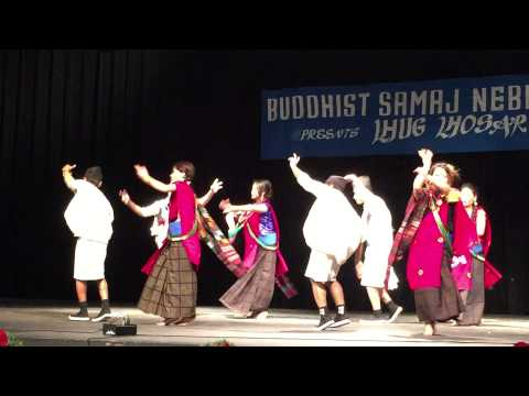 Gurung Losar 2014 Dance at Nebraska from Iowa